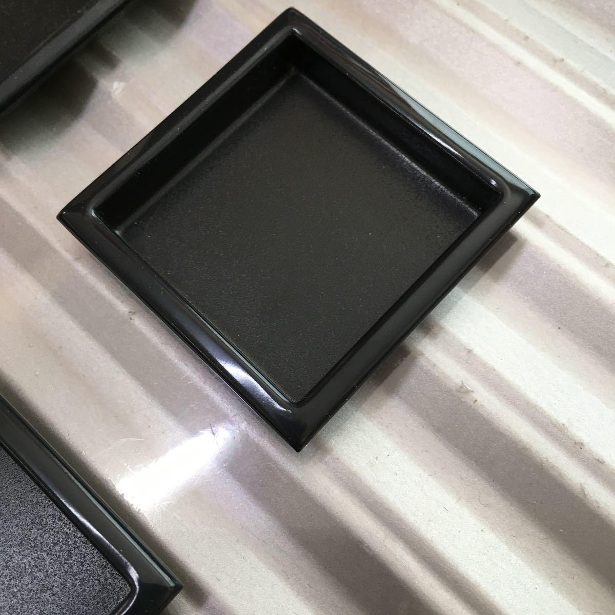 襖 引き手 真鍮 四方角 4個セット 44㍉×44㍉ 引手 定形外郵便発送可_画像2