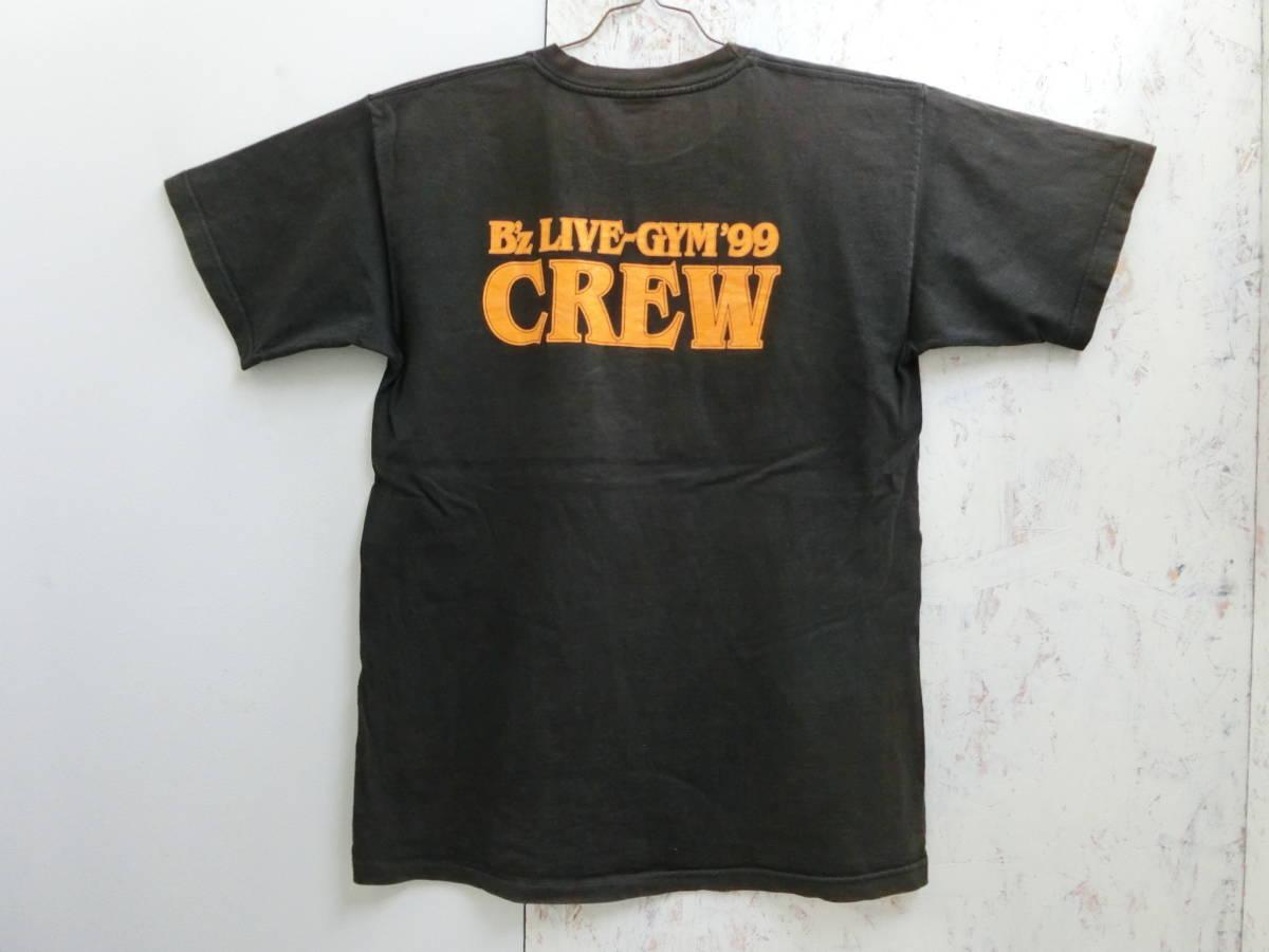 RT391■B'z LIVE GYM 99年 Brotherhood Tシャツ (L) CREW スタッフ_画像2