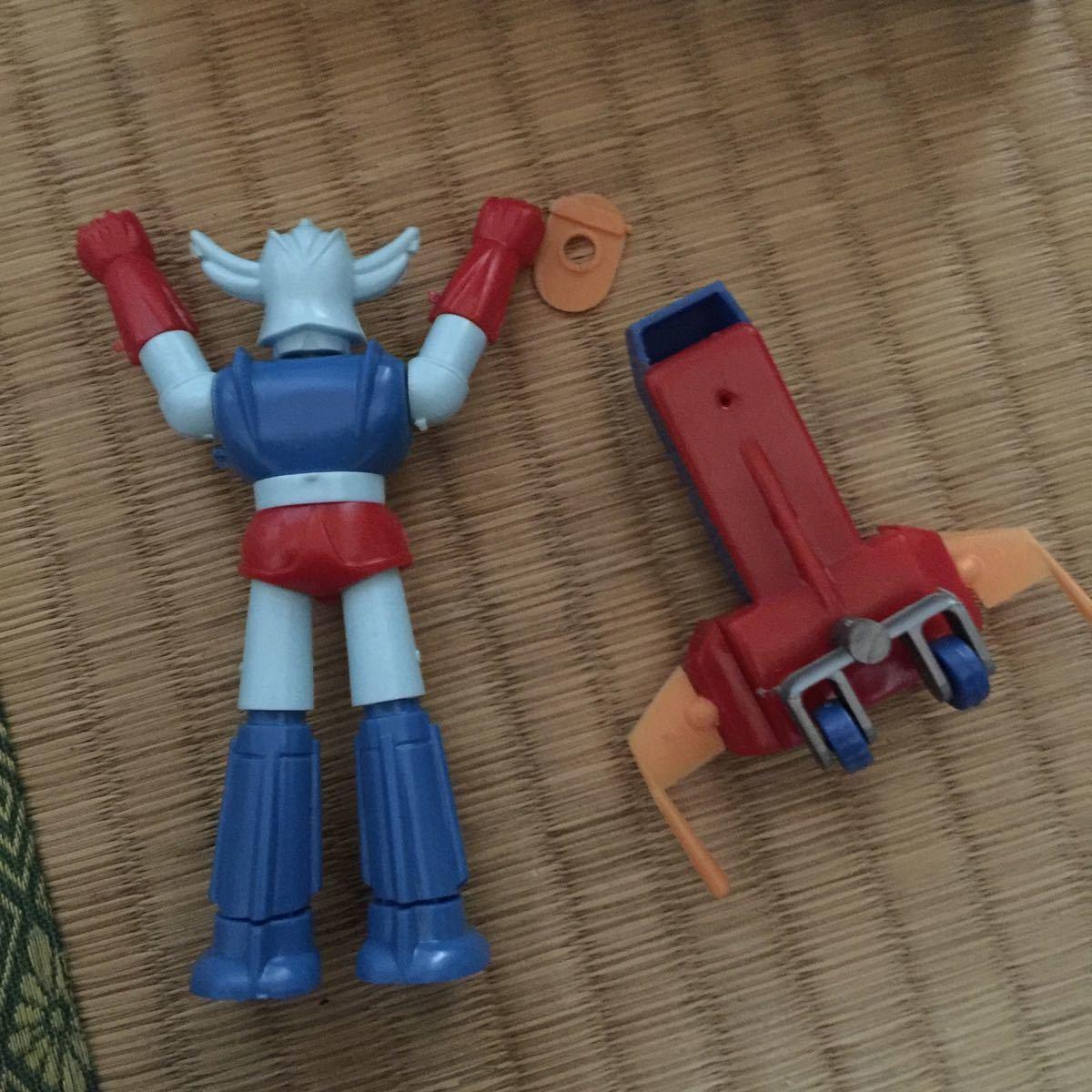 合体ロボット アトランジャー ミニ合体マシン アオシマ _画像5
