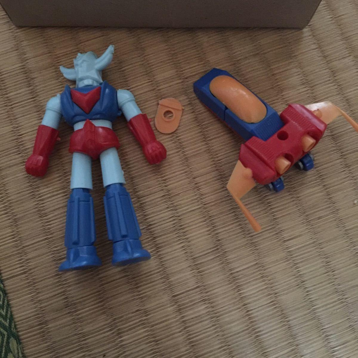 合体ロボット アトランジャー ミニ合体マシン アオシマ _画像4