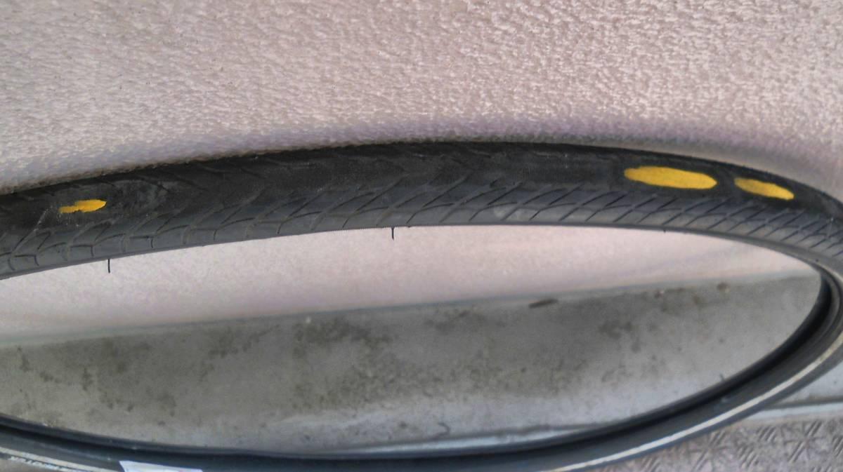 ミシュラン 700C-35 クロスバイク用タイヤ 送料1500円から ⑦_画像5