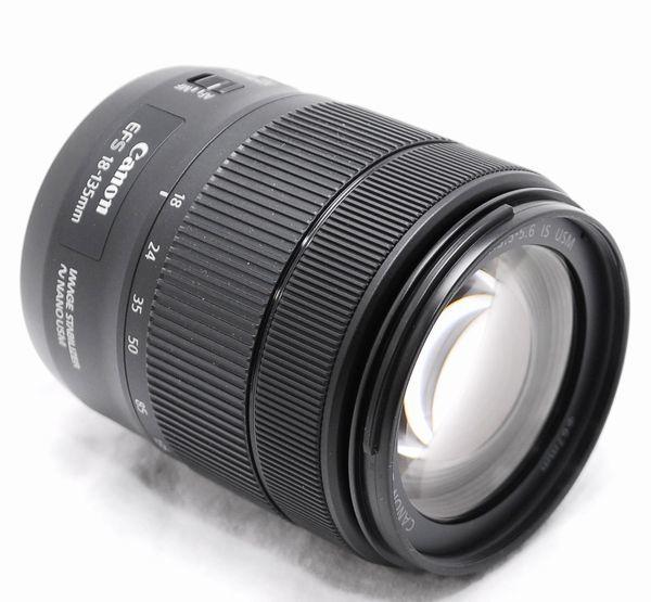 【新品同様の超美品・メーカー保証書 付属品完備】Canon キヤノン EF-S 18-135mm F3.5-5.6 IS USM_画像5