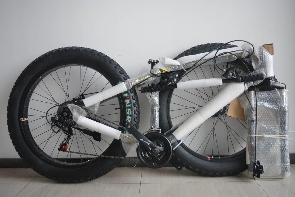 ★限量版★新品 マウンテンバイク 26インチ 24段変速 通勤 通学 自転車 前後ディスクブレーB34J350 _画像2