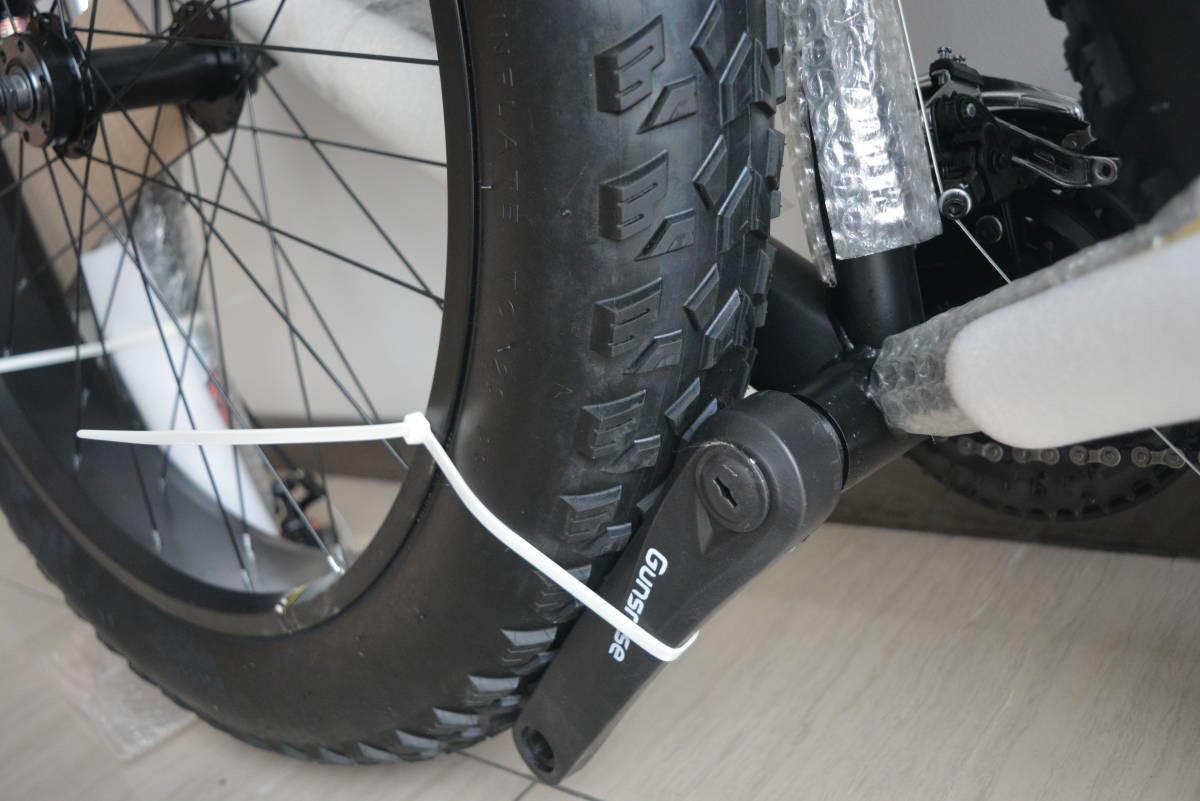 ★限量版★新品 マウンテンバイク 26インチ 24段変速 通勤 通学 自転車 前後ディスクブレーB34J350 _画像6