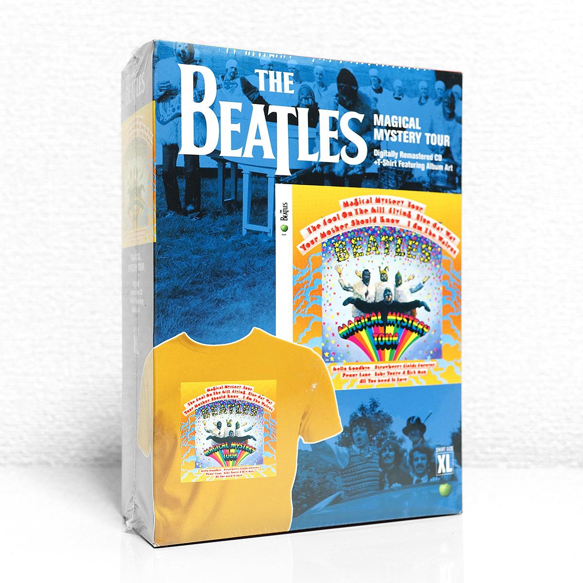 【新品未開封・正規輸入盤】ザ・ビートルズ T-SHIRT BOX『MAGICAL MYSTERY TOUR』 アルバムアートTシャツ付属