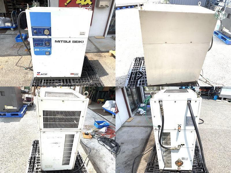 【難あり】 【兵庫発】 【三井精機】 5馬力 60Hz スクロール エア コンプレッサー ZS046A スクリューコンプレッサー MITSUI SEIKI ZS-046A_画像2