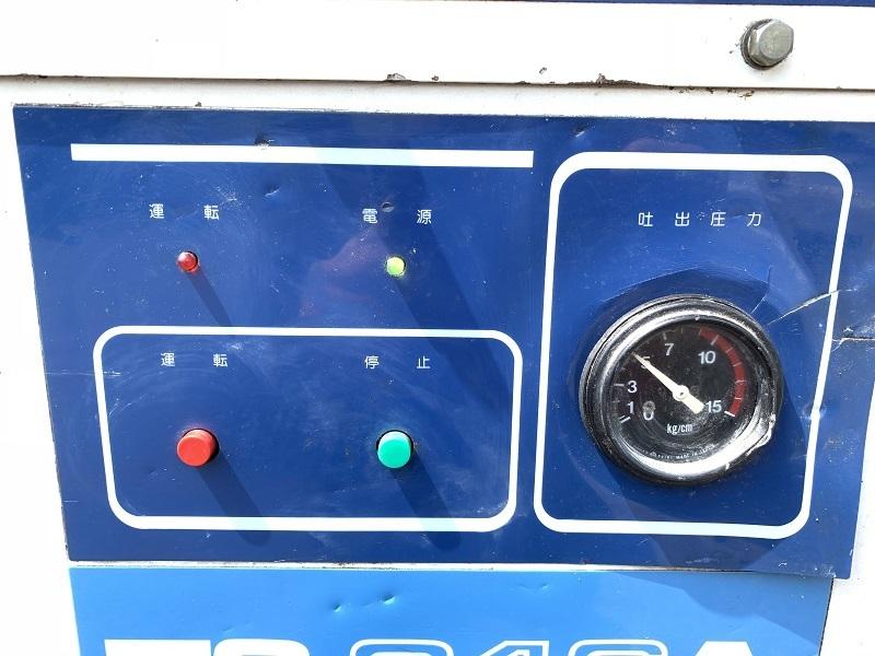 【難あり】 【兵庫発】 【三井精機】 5馬力 60Hz スクロール エア コンプレッサー ZS046A スクリューコンプレッサー MITSUI SEIKI ZS-046A_画像5