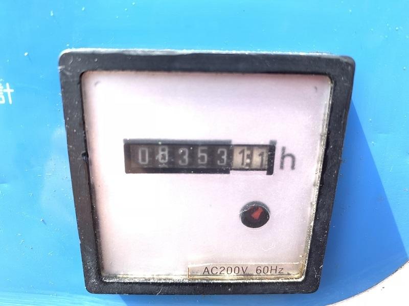 【難あり】 【兵庫発】 【三井精機】 5馬力 60Hz スクロール エア コンプレッサー ZS046A スクリューコンプレッサー MITSUI SEIKI ZS-046A_画像9