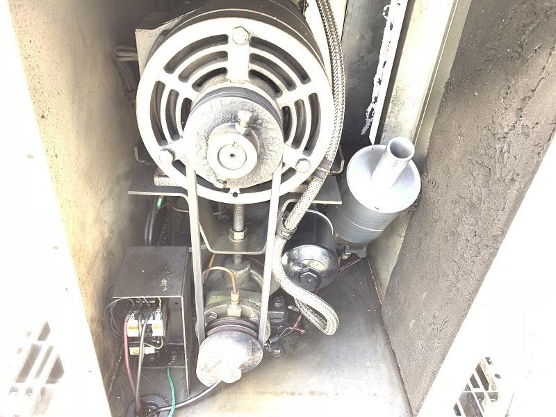 【難あり】 【兵庫発】 【三井精機】 5馬力 60Hz スクロール エア コンプレッサー ZS046A スクリューコンプレッサー MITSUI SEIKI ZS-046A_画像6