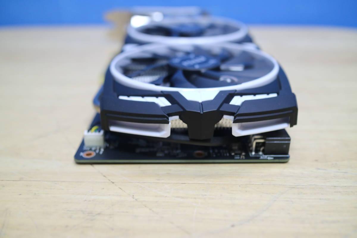 MSI GeForce GTX 1060 ARMOR 6G OCV1 グラフィックボード #J7640_画像5