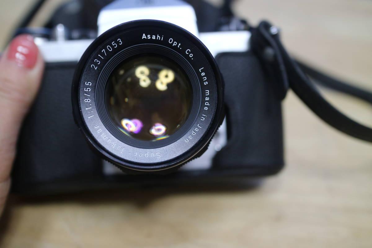 ASAHI PENTAX / ペンタックス Super- Takumar 1:1.8 /55 フィルムカメラ_画像3