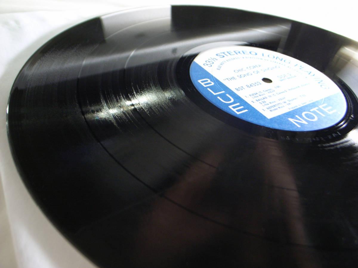 1円開始 1/1 プロモ NM【USオリ】Chick Corea - The Song Of Singing チック・コリア Dave Holland, Barry Altschul LP レコード BST-84353_画像7