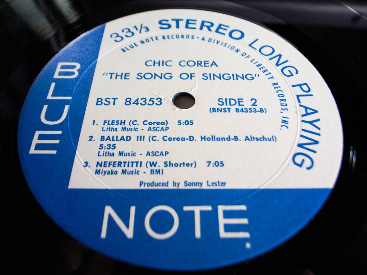 1円開始 1/1 プロモ NM【USオリ】Chick Corea - The Song Of Singing チック・コリア Dave Holland, Barry Altschul LP レコード BST-84353_画像8