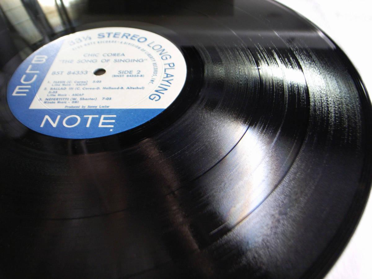 1円開始 1/1 プロモ NM【USオリ】Chick Corea - The Song Of Singing チック・コリア Dave Holland, Barry Altschul LP レコード BST-84353_画像9