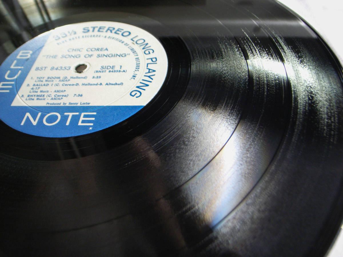 1円開始 1/1 プロモ NM【USオリ】Chick Corea - The Song Of Singing チック・コリア Dave Holland, Barry Altschul LP レコード BST-84353_画像4