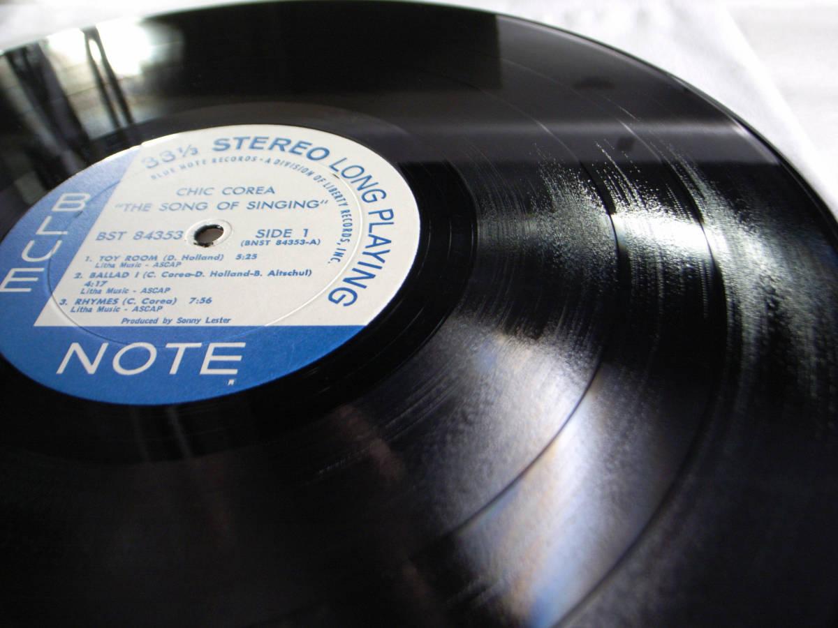 1円開始 1/1 プロモ NM【USオリ】Chick Corea - The Song Of Singing チック・コリア Dave Holland, Barry Altschul LP レコード BST-84353_画像5