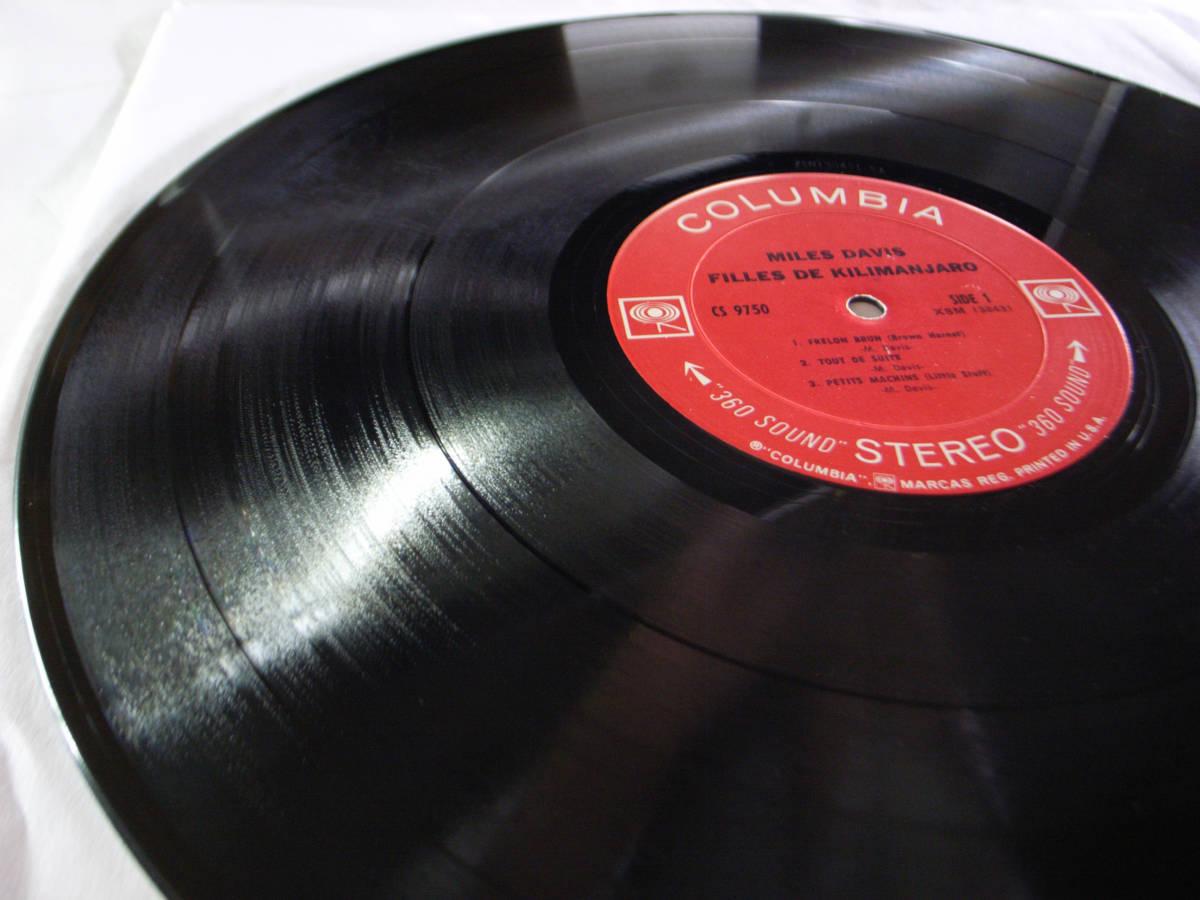 1円開始 1A/1A【USオリ】Miles Davis Filles De Kilimanjaro マイルス・デイビス Chick Corea チック・コリア Herbie Hancock LP レコード_画像2