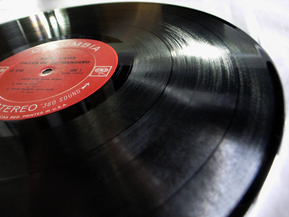 1円開始 1A/1A【USオリ】Miles Davis Filles De Kilimanjaro マイルス・デイビス Chick Corea チック・コリア Herbie Hancock LP レコード_画像5