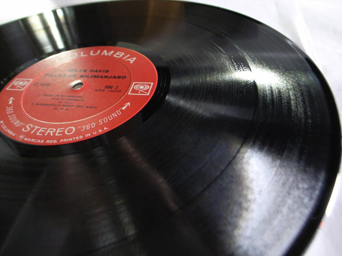 1円開始 1A/1A【USオリ】Miles Davis Filles De Kilimanjaro マイルス・デイビス Chick Corea チック・コリア Herbie Hancock LP レコード_画像10