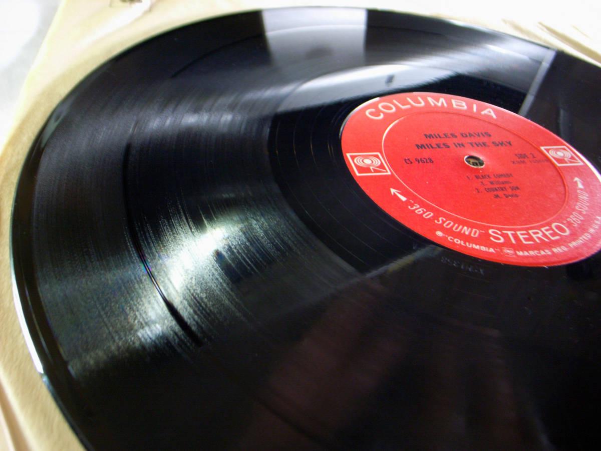 1円開始 NM【USオリ】Miles Davis - Miles In The Sky マイルス・デイビス Herbie Hancock, Wayne Shorter デイヴィス LP レコード CS 9628_画像2