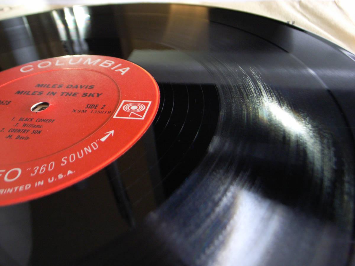 1円開始 NM【USオリ】Miles Davis - Miles In The Sky マイルス・デイビス Herbie Hancock, Wayne Shorter デイヴィス LP レコード CS 9628_画像4