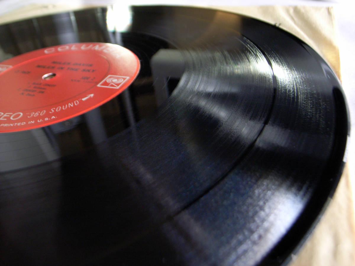 1円開始 NM【USオリ】Miles Davis - Miles In The Sky マイルス・デイビス Herbie Hancock, Wayne Shorter デイヴィス LP レコード CS 9628_画像5