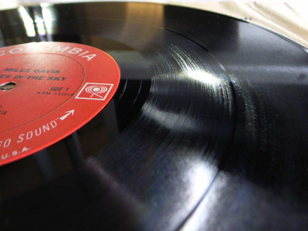 1円開始 NM【USオリ】Miles Davis - Miles In The Sky マイルス・デイビス Herbie Hancock, Wayne Shorter デイヴィス LP レコード CS 9628_画像9