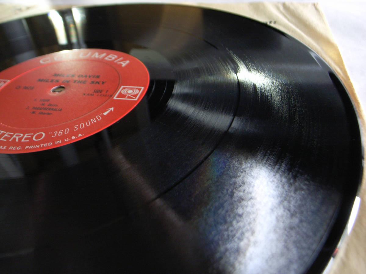 1円開始 NM【USオリ】Miles Davis - Miles In The Sky マイルス・デイビス Herbie Hancock, Wayne Shorter デイヴィス LP レコード CS 9628_画像10