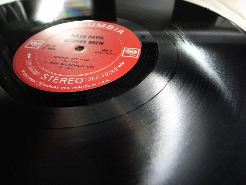 1円開始 NM 2枚組 2eye【USオリ】Miles Davis Bitches Brew マイルス・デイビス Chick Corea チックコリア Joe Zawinul LP レコード GP 26_画像4