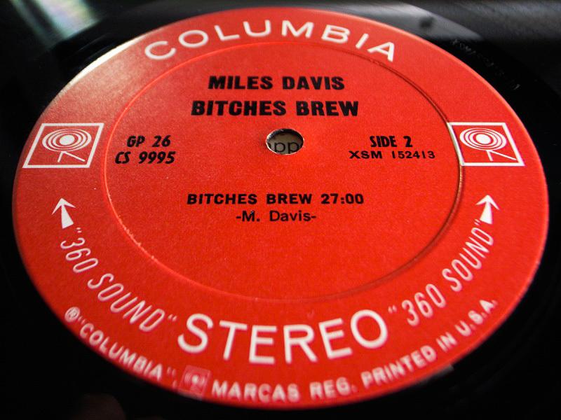 1円開始 NM 2枚組 2eye【USオリ】Miles Davis Bitches Brew マイルス・デイビス Chick Corea チックコリア Joe Zawinul LP レコード GP 26_画像7