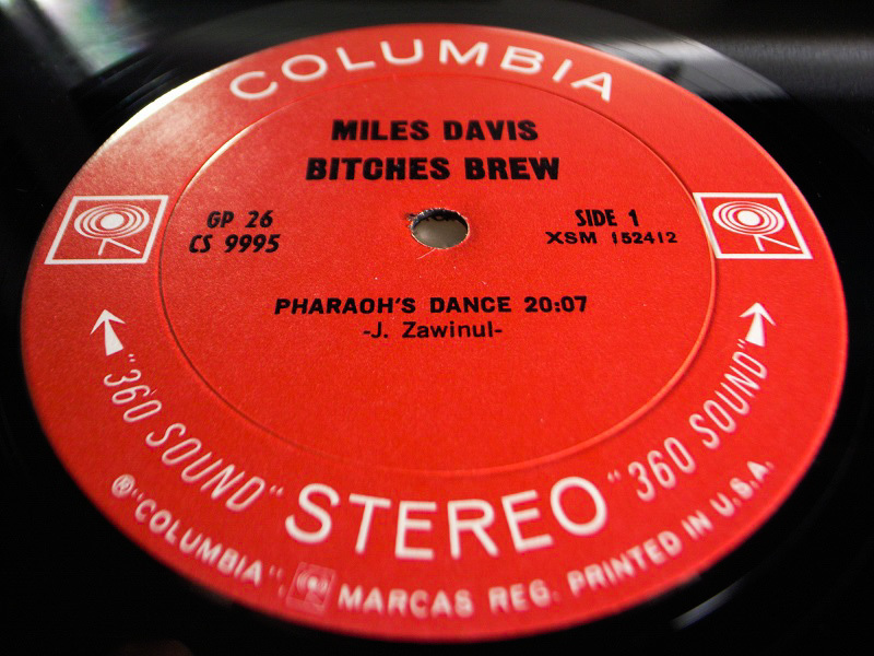 1円開始 NM 2枚組 2eye【USオリ】Miles Davis Bitches Brew マイルス・デイビス Chick Corea チックコリア Joe Zawinul LP レコード GP 26_画像8