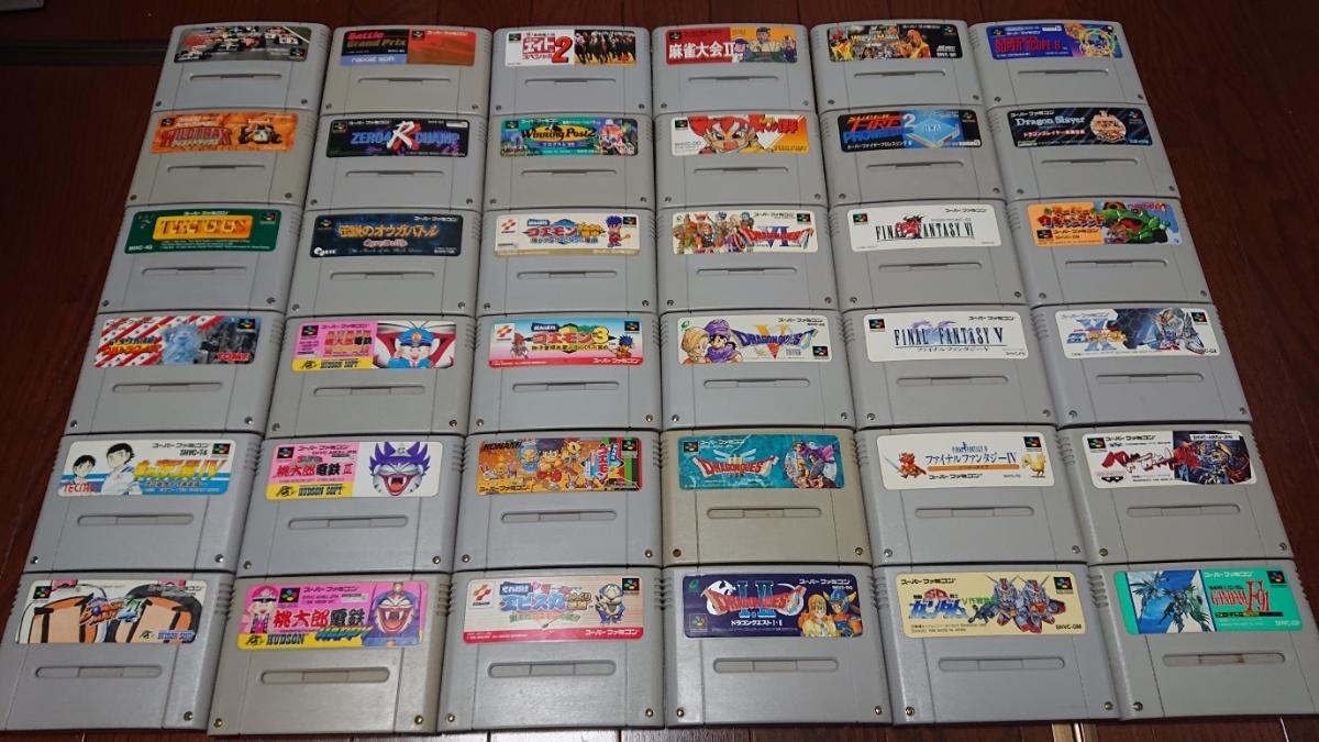 『1円~』SFCスーパーファミコンソフト 大量132本セット。ロックマン、マリオ、ゴエモン、ドラクエ、ボンバーマン等まとめ売り!_画像6