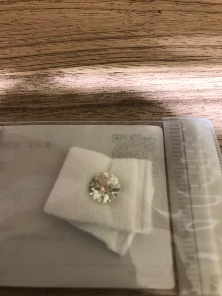 ■11510 【大注目】ルースダイヤ 2,193ct 中央宝石研究所 ソーティング済み!!!!_画像4