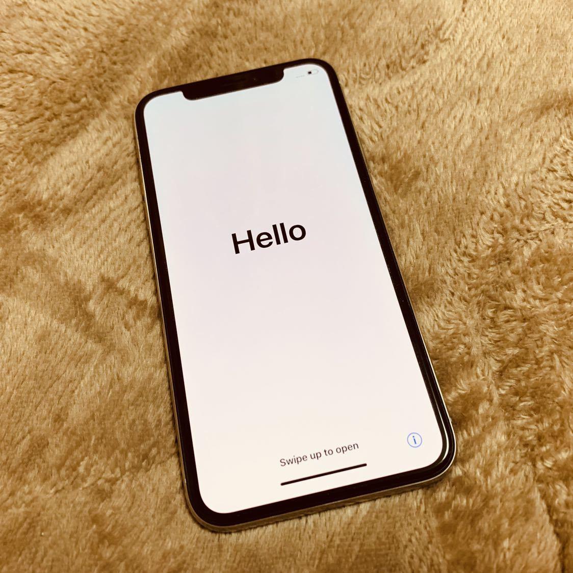 iPhone X シルバー 256GB(MQC22J/A)・SIMフリーモデル_画像5
