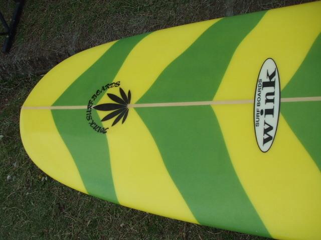 "WINK SURFBOARDS 9'3"" オールラウンドモデル ロングボード_画像8"
