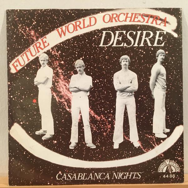 ☆Future World Orchestra/Desire - Casablanca Nights☆EURO SYNTH POP DISCO!7inch 45_画像1
