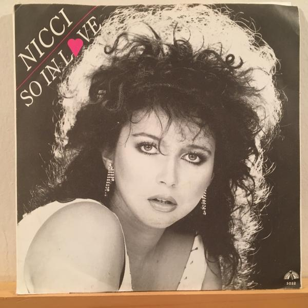 ☆Nicce/So In Love☆MELLOW UK 80s BOOGIE!7inch 45_画像1