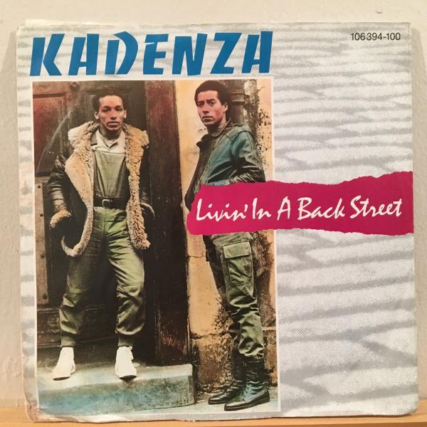 ☆Kadenza/Living In A Back Street☆80s UK MODERN SYNTH BOOGIE!7inch 45_画像1