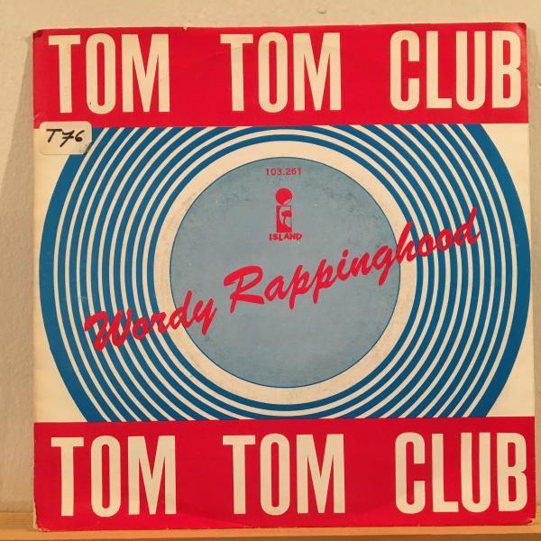 ☆Tom Tom Club/Wordy Rappinghood☆NEW WAVE DISCO!7inch 45_画像1