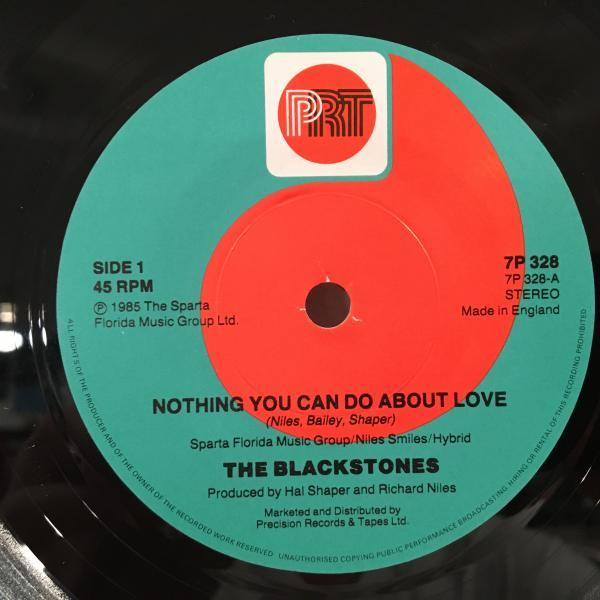 ☆The Blackstones/Nothin' You Can Do About Love☆UK MODERN SOUL & LOVERS ROCK!7inch 45_画像2