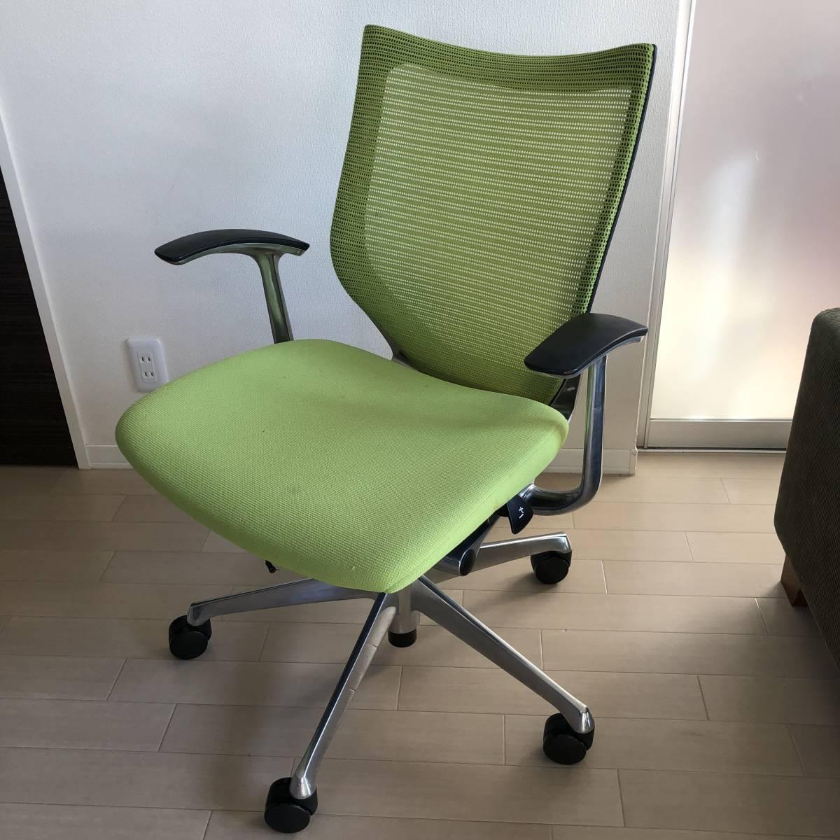 バロンチェア okamura オカムラ オフィスチェア バロン 座メッシ 昇降椅子 CP43BR-FDF6