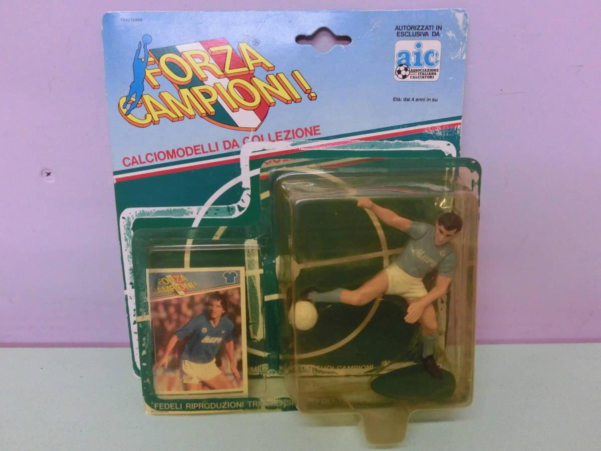 セリエA アンドレア・カルネヴァーレ フィギュア人形 SSCナポリ イタリア代表 Andrea Carnevale Figure ケナー KENNER サッカー