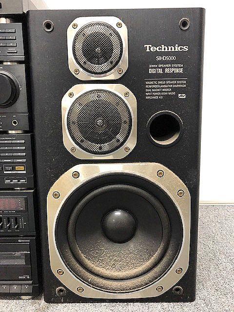 Technics システムコンポ SB-D5000スピーカー/ST-D5000/SU-D5000-K/SL-D5000/SH-D5000/RS-D5000/SONY PS-V700 ジャンク 007892-2 m17y_画像5