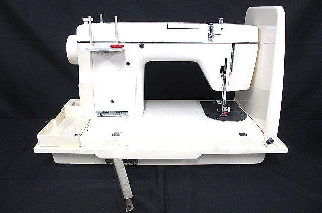 JANOME ジャノメミシン モデル805型 足踏みミシン 手芸 洋裁 動作OK 007873-2 m17_画像6