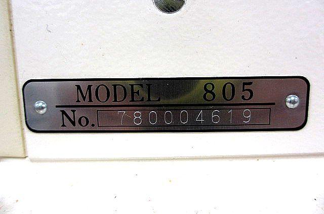 JANOME ジャノメミシン モデル805型 足踏みミシン 手芸 洋裁 動作OK 007873-2 m17_画像7
