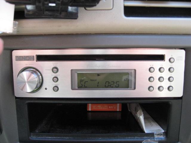 DENON デノン DCT-R1 CDプレーヤー AM/FMチューナー 25W×4ch パワーアンプ内蔵 中古品_画像2