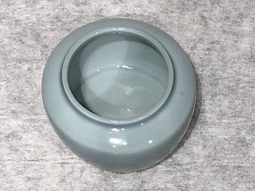 天藍磁建水(煎茶用)/2代三浦竹泉_画像4