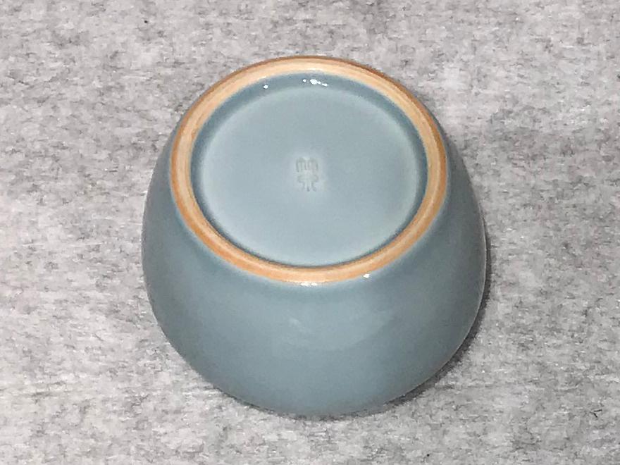 天藍磁建水(煎茶用)/2代三浦竹泉_画像5