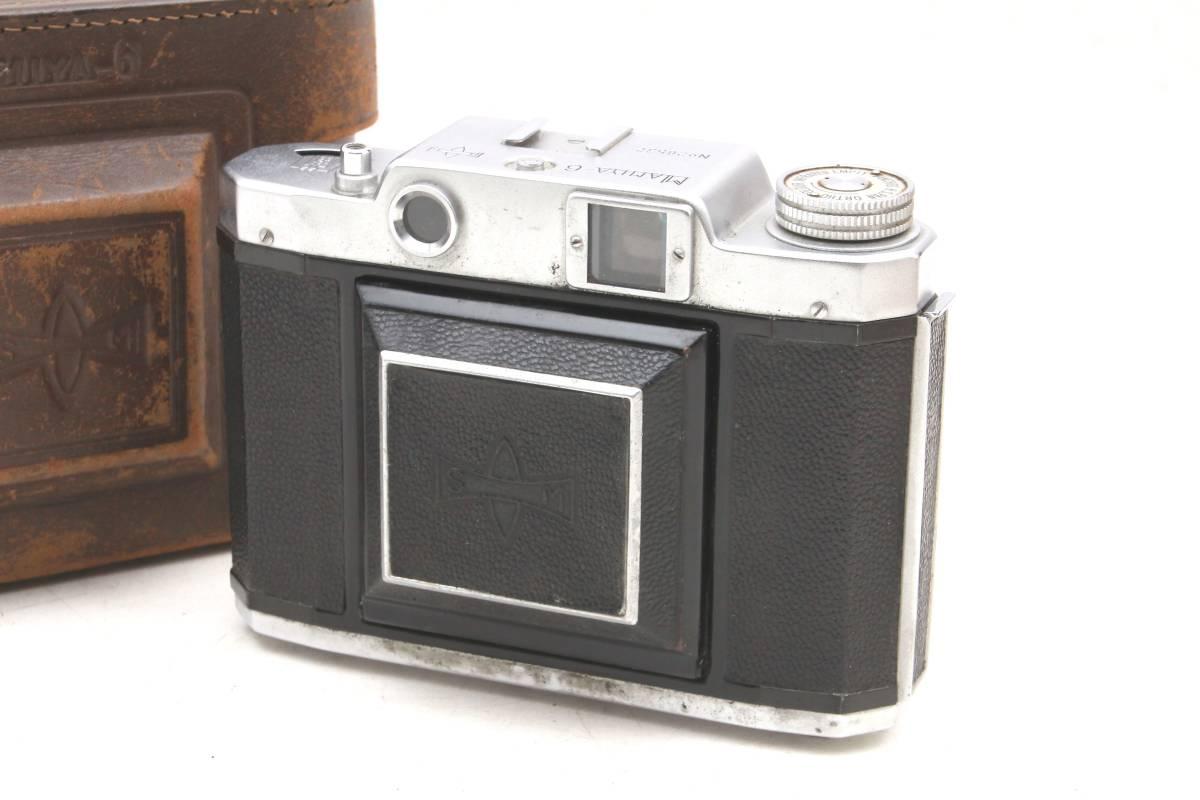 マミヤ 蛇腹カメラ MAMIYA-6 ケース付 レトロ アンティーク ビンテージ 032216_画像2