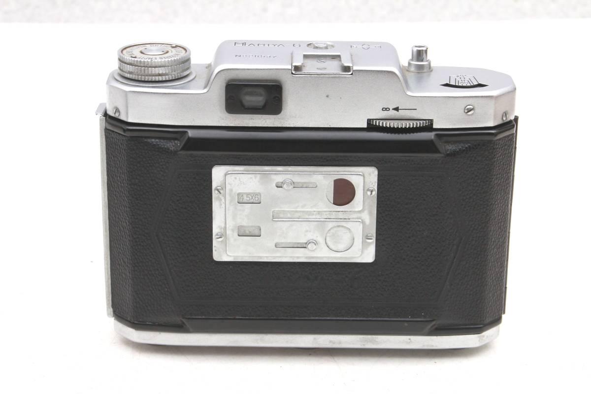 マミヤ 蛇腹カメラ MAMIYA-6 ケース付 レトロ アンティーク ビンテージ 032216_画像7